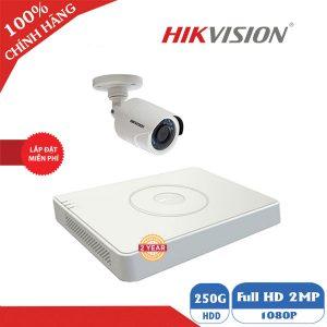Lắp Trọn Gói Bộ 1 Camera Hikvision Cao Cấp Giá Rẻ